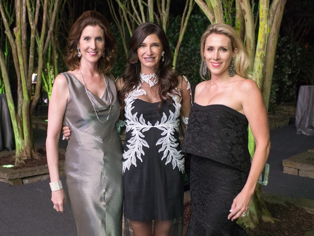 Van Cleef & Arpels party, April 2016, Phoebe Tudor, Melissa Mithoff, Kristy Sullivan