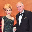 Margaret Alkek Williams and Jim Daniel at the Houston Symphony Wine Dinner March 2014
