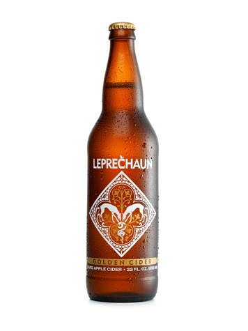 Leprechaun cider, golden cider