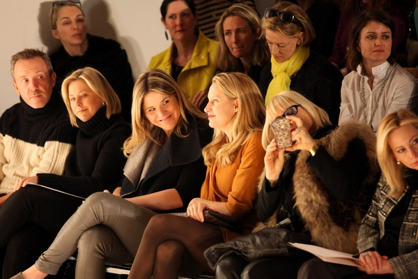 Jenna Bush Hager, Lela Rose show, February 2013