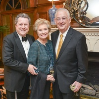 06, Preservation Houston Villa de Luxe party, February 2013, Bill Stubbs, Marilyn Elliott, Lynn Stubbs