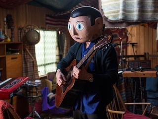 Michael Fassbender in the movie Frank