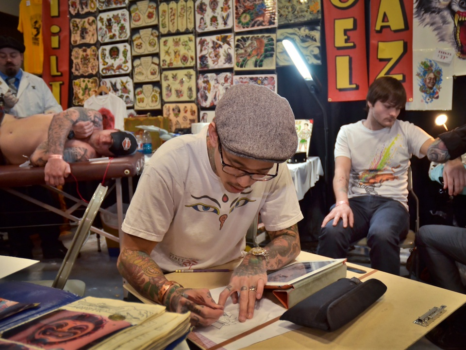 Austin Photo Set: Jon_tattoo revival_jan 2013_9