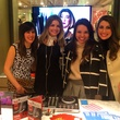 Houston bloggers and DJ at Elaine Turner New York store