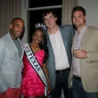 Leandre Johns, Natalie Clarke, Andrew Jacobson, Will Zinsmeister, Pink Party, Susan G. Komen