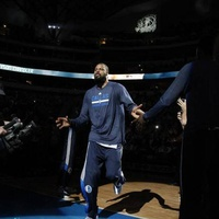 Tyson Chandler of the Dallas Mavericks