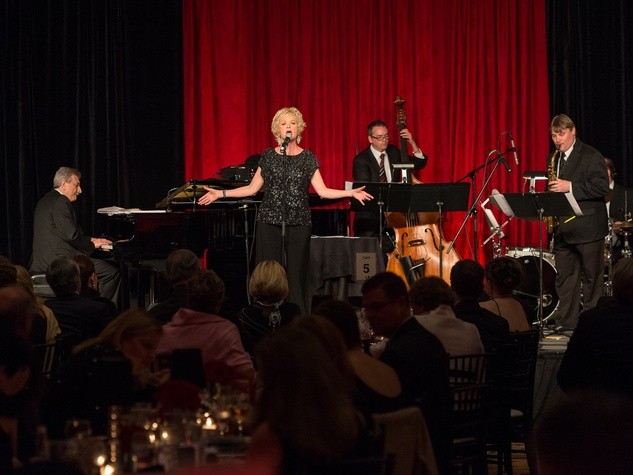 Houston Area Women's Center Gala April 2013 Christine Ebersole singing