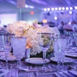 Table setting at Art Ball 2014