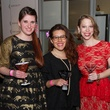 4 Ashley Powell, from left, Jenny Lynn Weitz and Kathryn Hall at Martini Madness February 2014