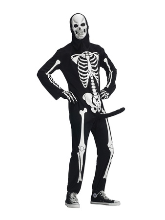 Halloween costumes, for men, Skeleboner, October 2012