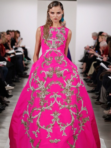 48, Fashion Week fall 2013, February 2013, Oscar de la Renta
