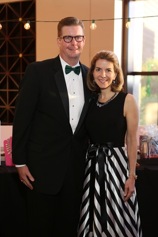 Jonathan and Amy Homeyer at the Houston SPA Society for the Performing Arts Gala March 2015