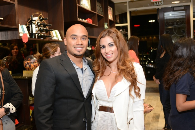 13a Michael and Krystal Keys at the Cacao & Cardamom party November 2014