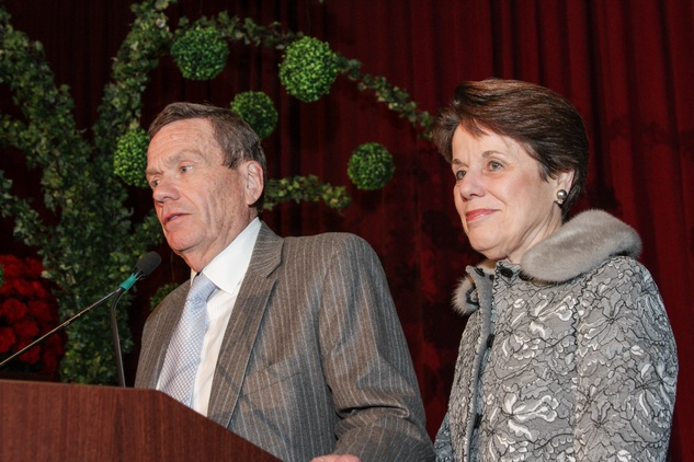 19 Richard and Ginni Mithoff at Houston Treasures dinner December 2013