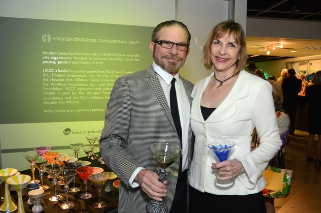 104 Marshal and Victoria Lightman at the Craft Museum Martini Madness party January 2015