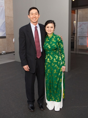 125 Tim and Liz Lee at Tiger Ball March 2014