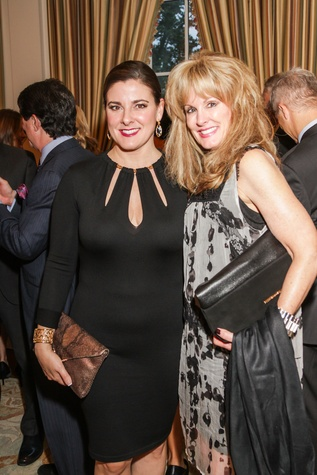Elaine Turner, left, and Laura Heatherly at Best Cellars September 2014