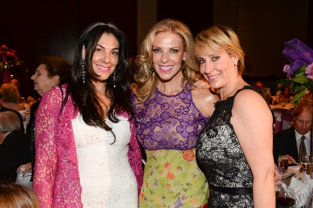 0116 Jennifer Stern, from left, Susana Brener de Stern and Jessica Meyer at the Virtuosi of Houston Gala May 2014.jpg