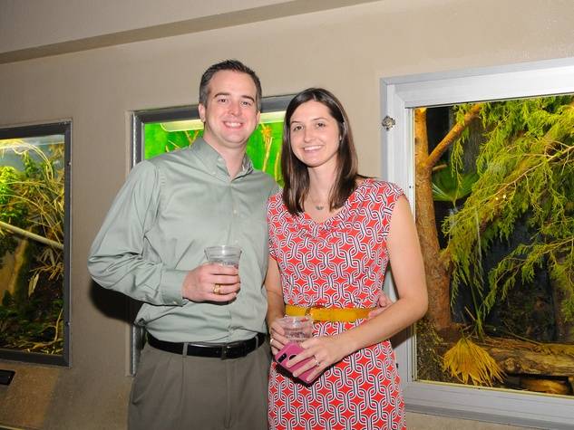 9900 Ryan and Brittany Mead at the Scales and Cocktails Houston Zoo Flock event