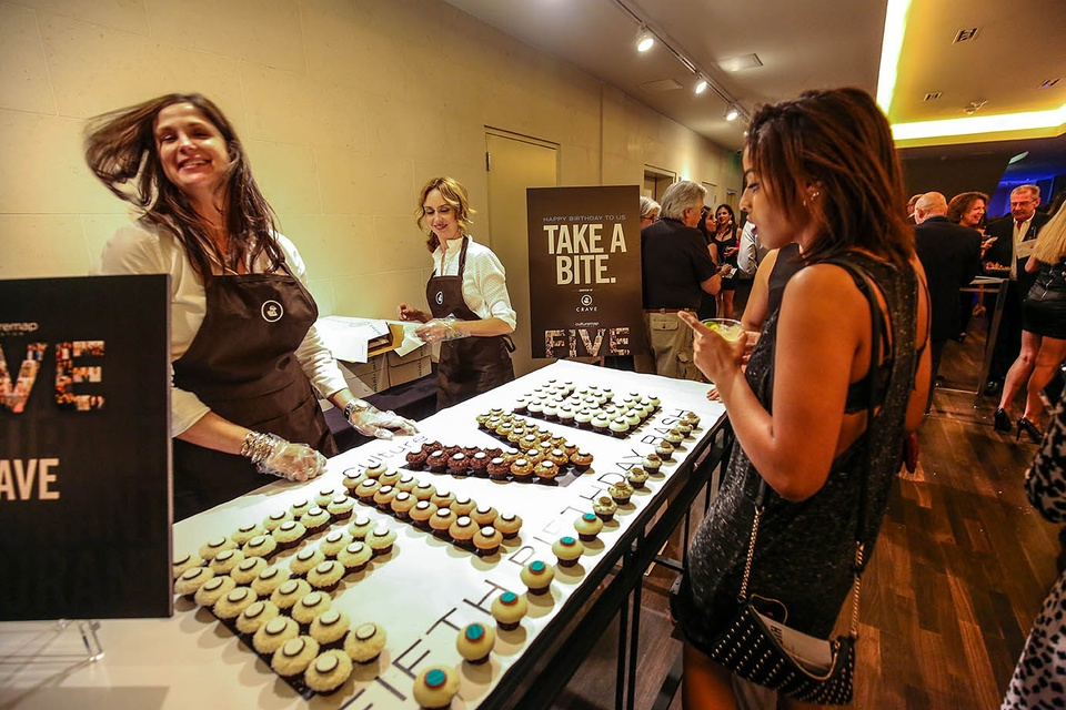 CultureMap fifth anniversary by F. Carter Smith October 2014 cupcakes