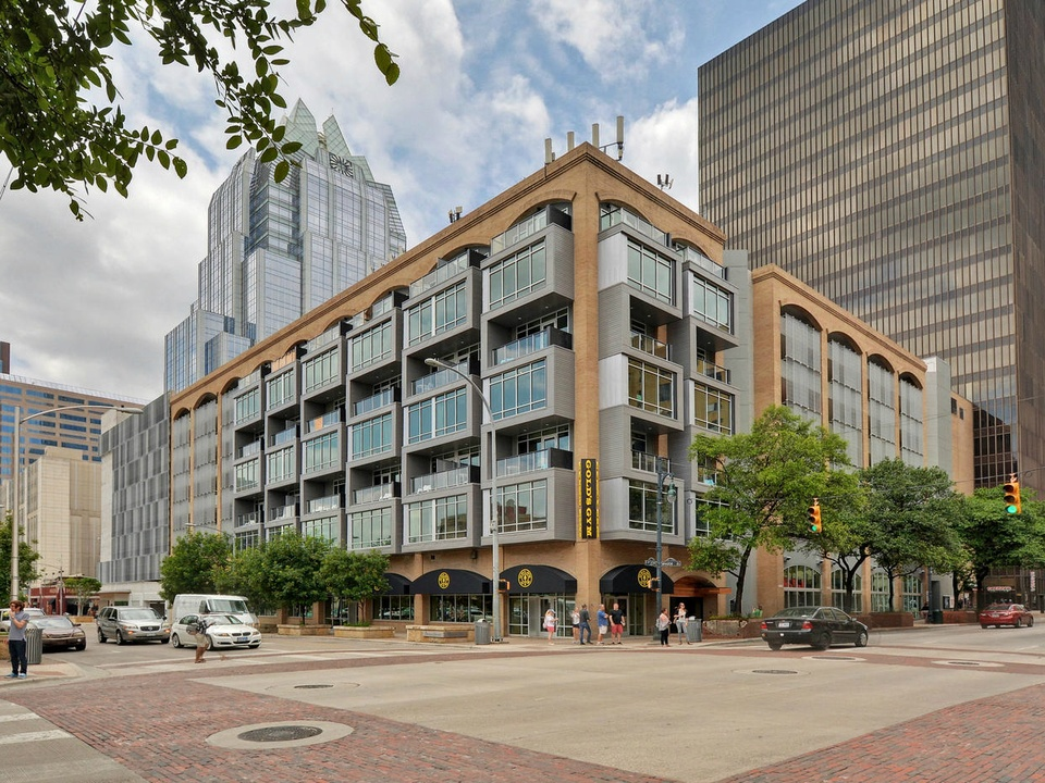 Littlefield Lofts Top downtown Austin Trip Rentals exterior sixth and brazos 2015