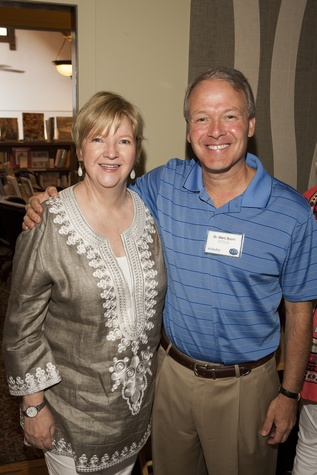 Leslie Blanton and Dr. Marc Boom Houston Methodist in Aspen July 2014