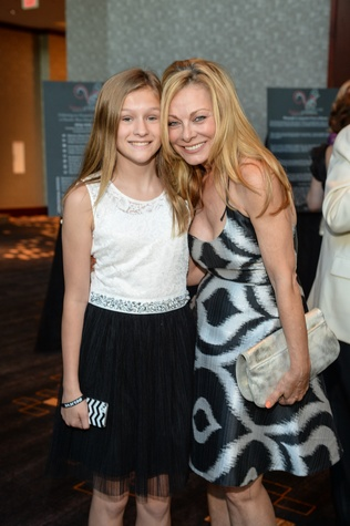 9373 Reagan Eveleth, left, and Page Parks Eveleth at the Virtuosi of Houston Gala May 2014