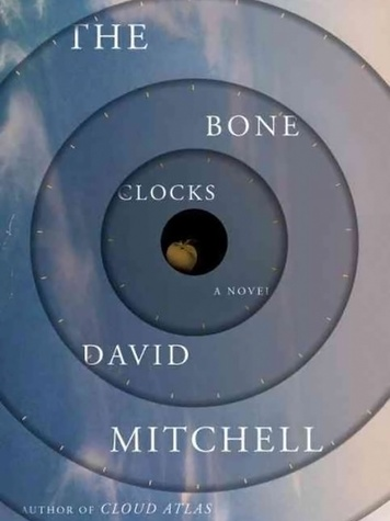 The Bone Clocks by David Mitchell book cover
