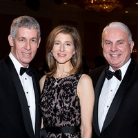 26 Bobby and Eve Lapin, left, with Mark A. Wallace at the Jewish Community Center Children's Scholarship Ball March 2015