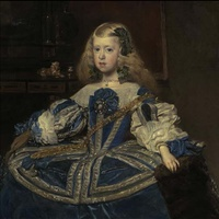 Velazquez painting at Grand Palais in Paris