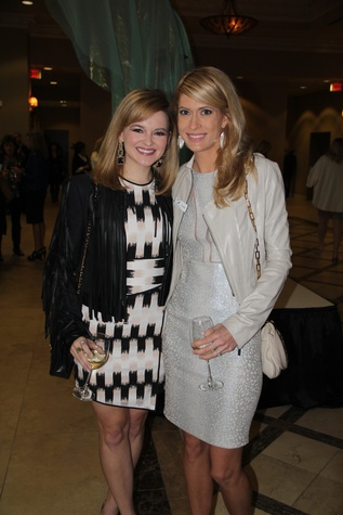 8 Kimberly Lombardino, left, and Kendall Hanno at the Rodeo Trailblazer Awards Luncheon February 2015