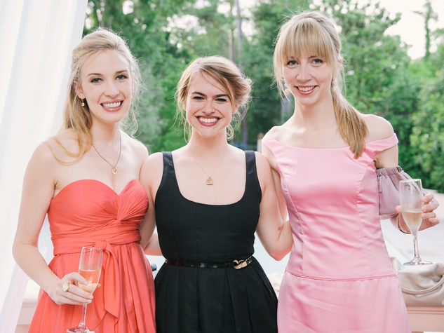 11 Always a Bridesmaid party at Rienzi May 2013 Elizabeth Suffield, Victoria Ridgway, Meredith Allison