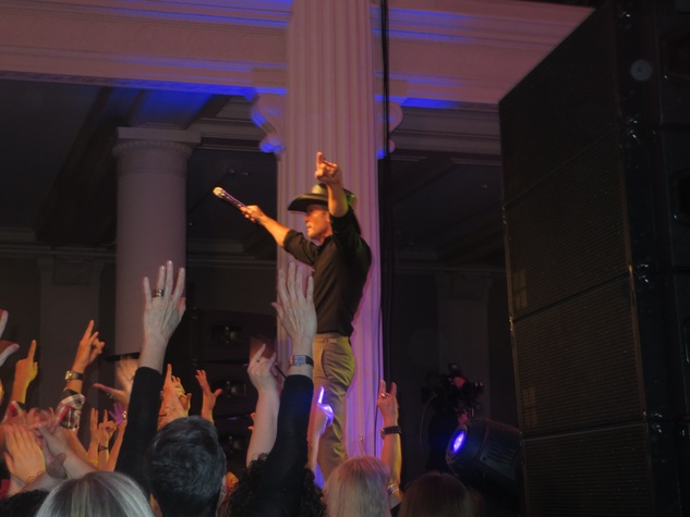 Tim McGraw at private concert at The Corinthian March 2014