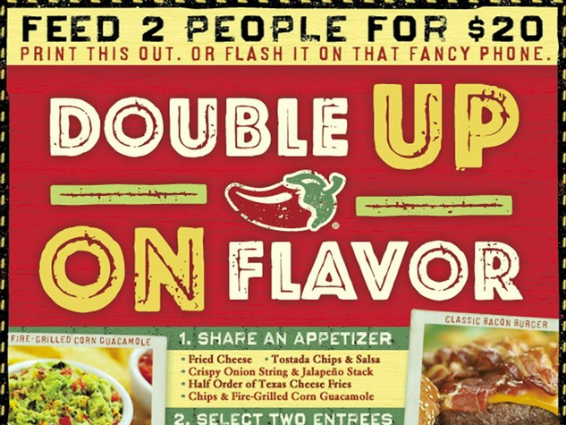 Get the deal: Boston Market is a big fan of the printable coupon, and has one to two discounts per month on average. This is one restaurant you'll want to set a deal alert for, though — many of its best coupons are only good for one day.