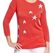 old navy Women's Lightweight Star-Graphic Sweaters
