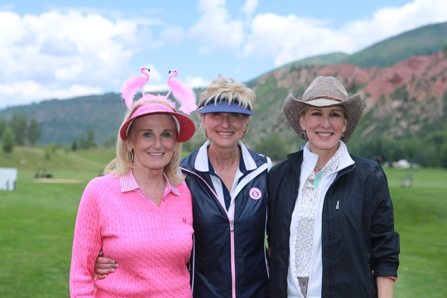 Houston Methodist in Aspen, July 2015, Denise Moneteleone, Dr Veronica Selinko Curran, Clayton Erickson