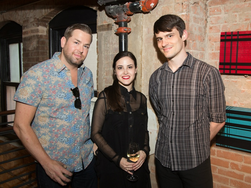 Michael Jungman, Luisa Guercini, Andrew Howie at Traffic LA