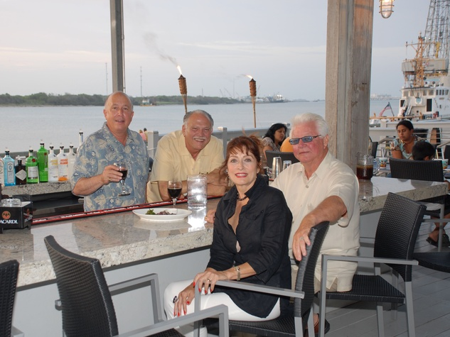 Olympia Grill patio Galveston