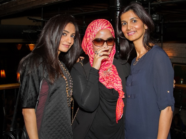 FashionXAustin Austin Fashion Week Kickoff 2015 at Speakeasy 2000s Umbreen Ahmed Asma The Haute Muslimah Aimen Ansari