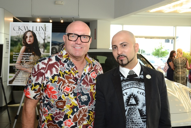 Houston, CKW Luxe Magazine Launch, May 2015, David Arpin, Rene Garza