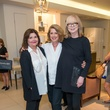 Mary Page, from left, Michaux Thomas and Cynthia Wells at the Decorative Center Houston Fall Market October 2014