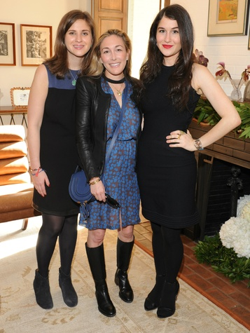 Alysa Teichman, Ashley Greene, Claire Kislinger, ylang 23 cathy waterman event