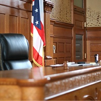 The view from the courtroom