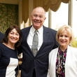 Carolyn Forney, from left, Steve Smith and Madelyn Farris at the Christus Health luncheon March 201 4