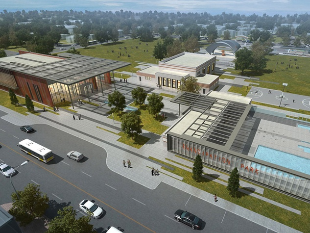 10, Emancipation Park, rendering