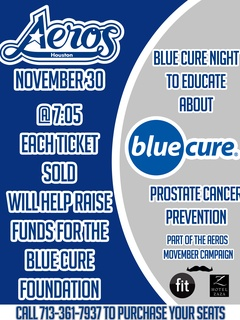 Blue Cure Night with the Aeros
