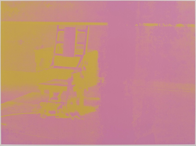 Andy Warhol Electric Chair (Portfolio)