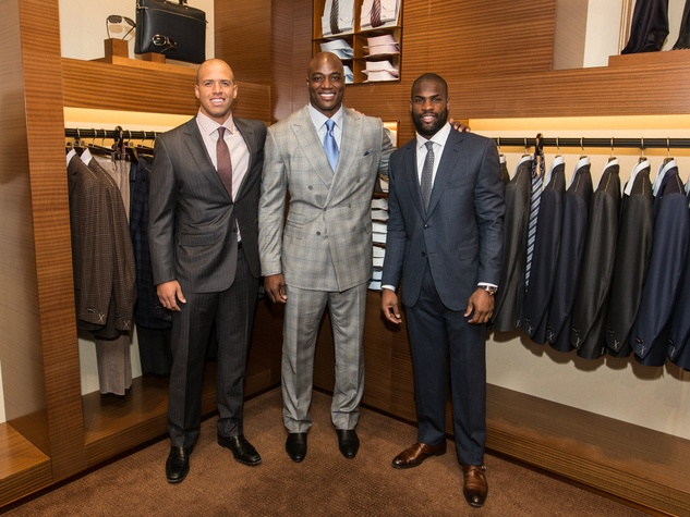 Miles Austin, DeMarcus Ware and DeMarco Murray, zegna