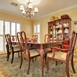 Dining room at 3197 Westcliff Rd. in Fort Worth