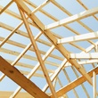 construction house frame ceiling